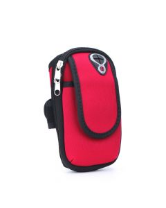 Sport armband FULL CLOSE red