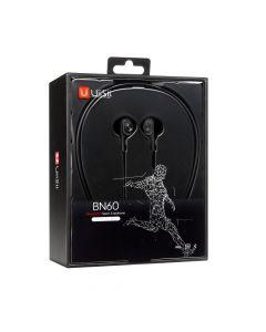 Bluetooth Stereo Headset Dual Dynamic Driver UiiSii BN60 Black