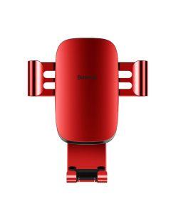 BASEUS car holder Metal Age Gravity CarMount Red SUYL-D09