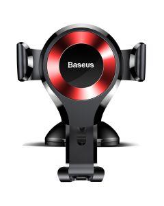 BASEUS car holder Osculum Type Gravity Car Mount Black-Red SUYL-XP09