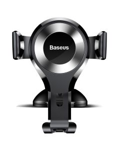 BASEUS car holder Osculum Type Gravity Car Mount Black-Silver SUYL-XP0S