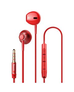 BASEUS Encok Wired Earphone H06 Red NGH06-09