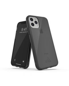 ADIDAS SP Protective Clear Case (small logo) for iPhone 11 PRO ( 5.8 ) smokey black