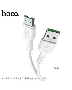HOCO Surge FAST CHARGE 4A Micro X33 white