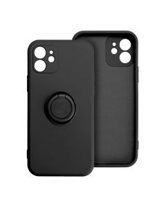 Forcell SILICONE RING Case for IPHONE 11 PRO black