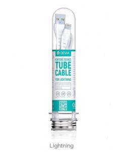 DEVIA Kintone series tube cable - lightning (5V 2.1A, 1.2M)