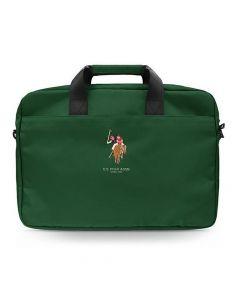 Laptop / tablet / notebook bag 15 U.S. Polo / US Polo Assn USCB15PUGFLGN green