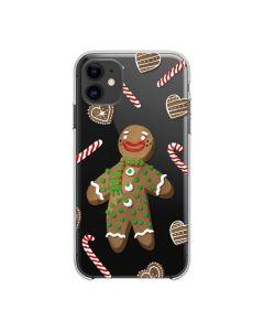 Futerał FORCELL Winter 20 / 21 for XIAOMI REDMI NOTE 9 PRO gingerbread men